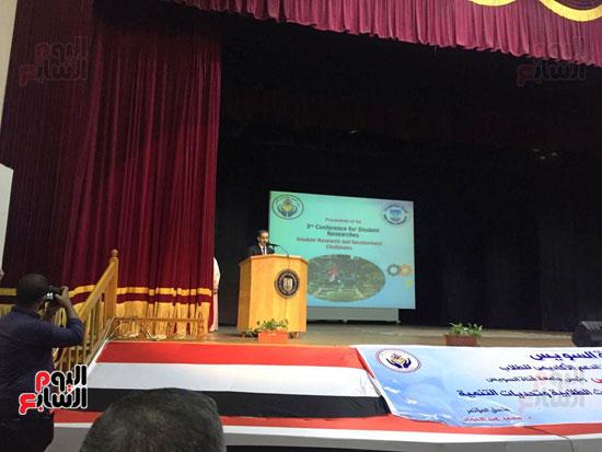 مؤتمر البحوث الطلابية الثالث بجامعة قناة السويس (1)