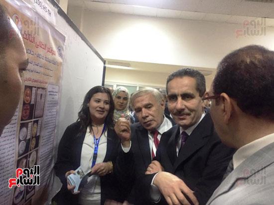 مؤتمر البحوث الطلابية الثالث بجامعة قناة السويس (2)