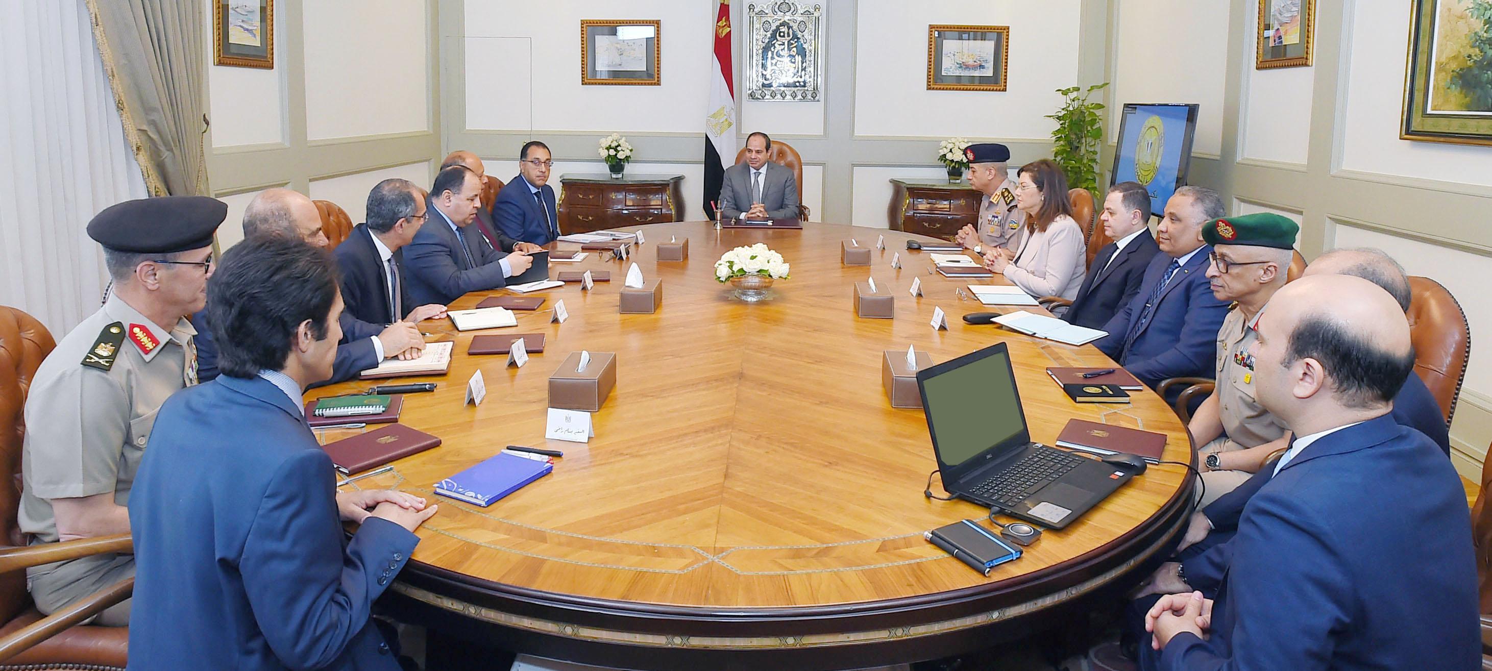 الرئيس السيسى يبحث جهود تطوير قدرات الدولة من خلال منظومة التحول الرقمى (3)