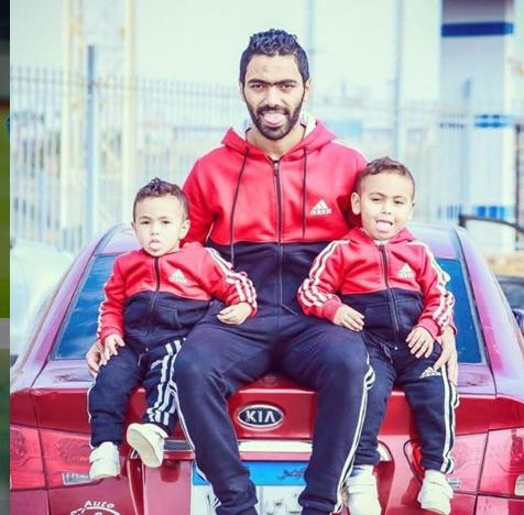 حسين الشحات واولاده