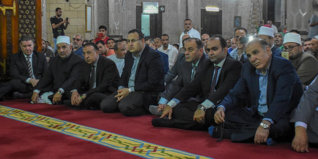 أوقاف الإسكندرية تحتفل بليلة القدر بحضور المحافظ (1)