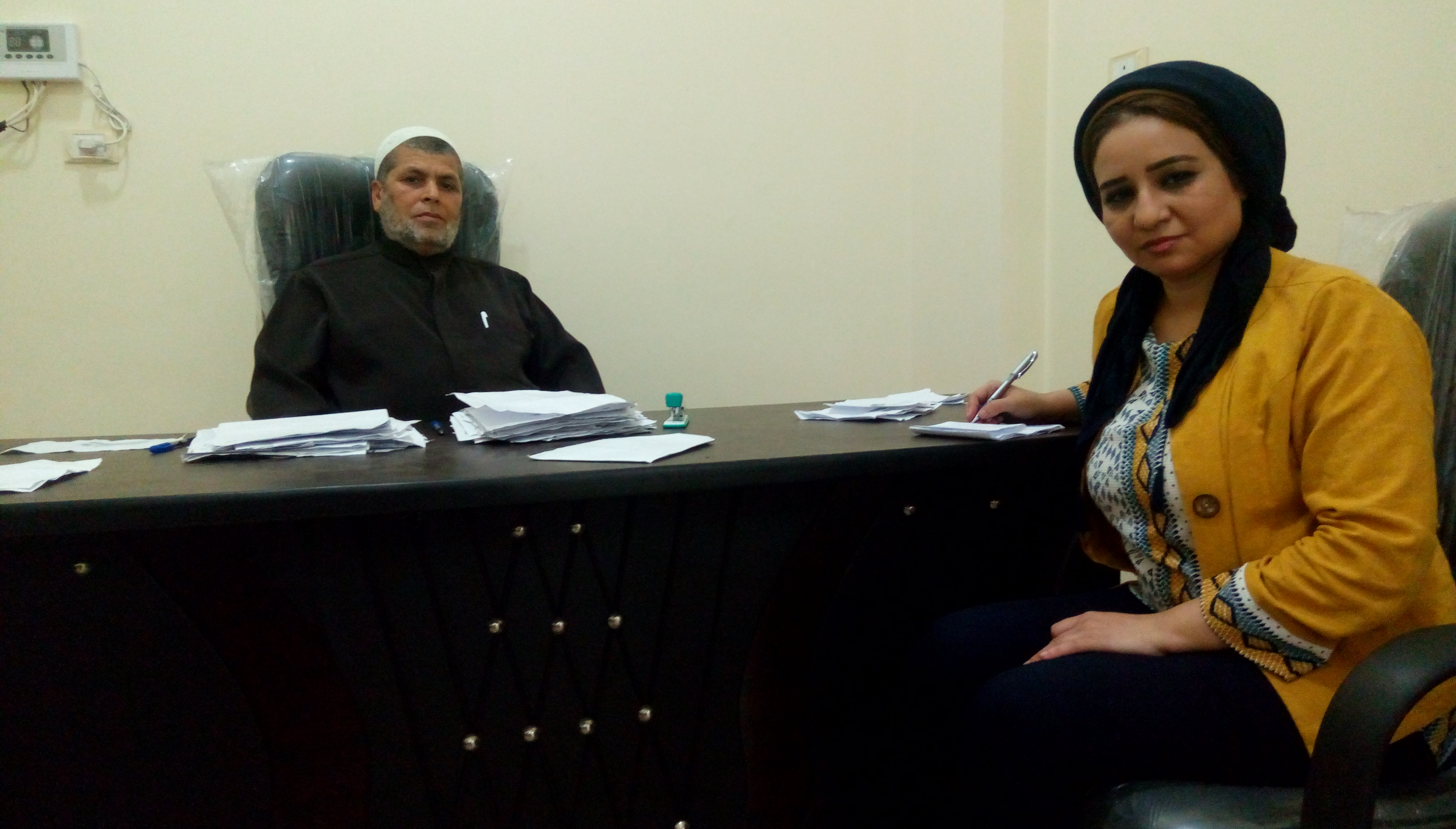 محررة اليوم السابع ورئيس لجنة الفتوى بالشرقية (1)