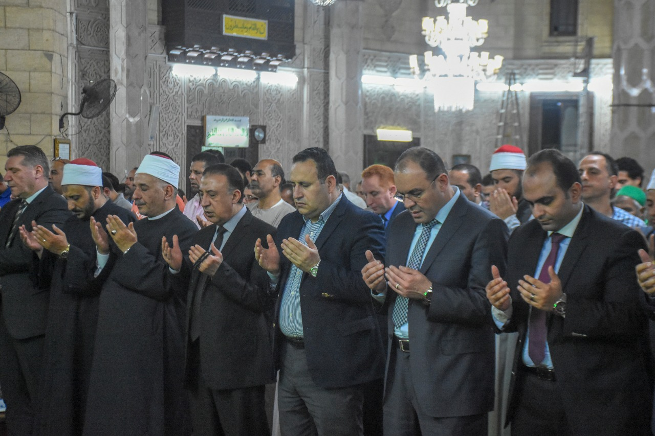 أوقاف الإسكندرية تحتفل بليلة القدر بحضور المحافظ (2)