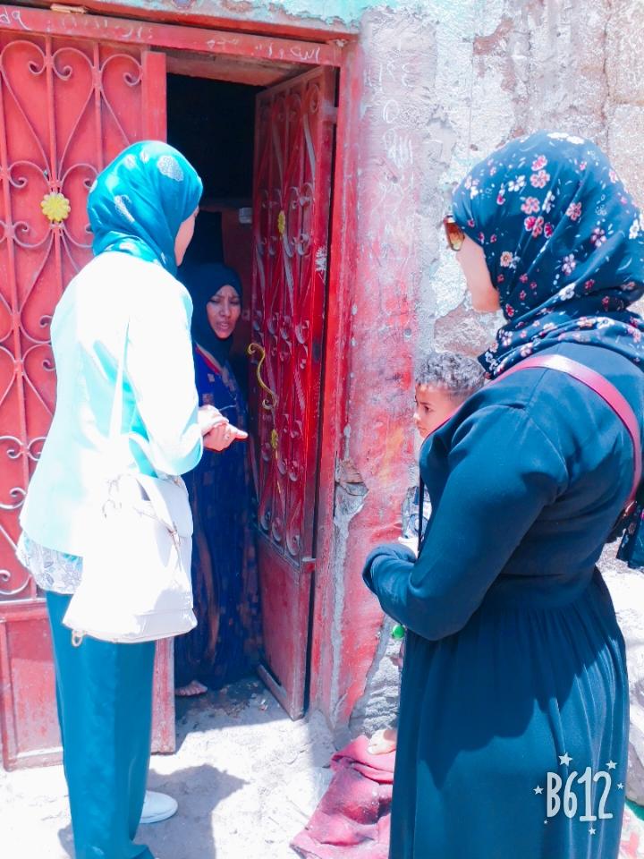 شركة مياه الشرب بالأقصر تجوب الشوارع لإطلاق حملة عدم إهدار المياه قبل عيد الفطر المبارك (1)