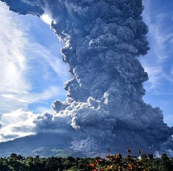 بركان سومطرة (4)