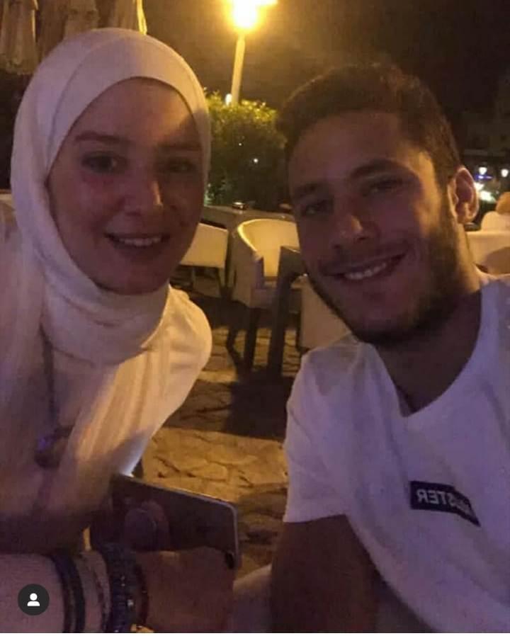 رمضان صبحى و حبيبة