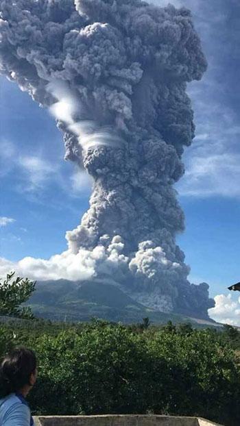 بركان سومطرة (3)