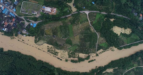 الفيضانات فى الصين