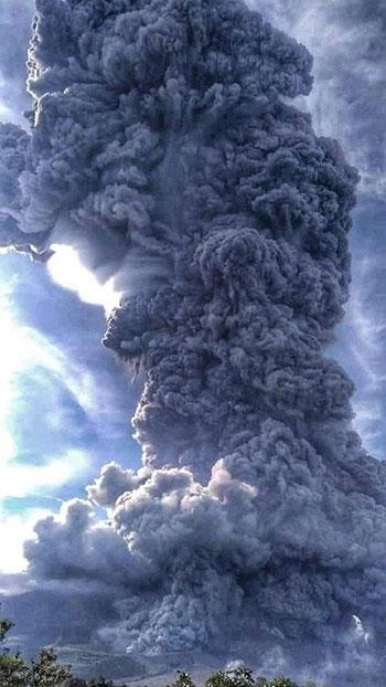 بركان سومطرة (2)