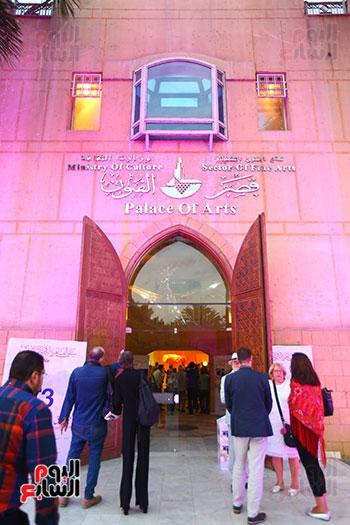 حفل افتتاح بينالى القاهرة الدولى للفنون (17)