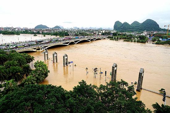 مياه الفيضانات والأمطار