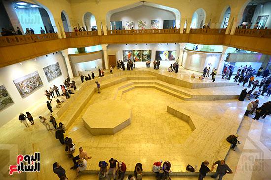 حفل افتتاح بينالى القاهرة الدولى للفنون (43)