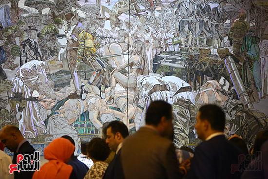 حفل افتتاح بينالى القاهرة الدولى للفنون (32)