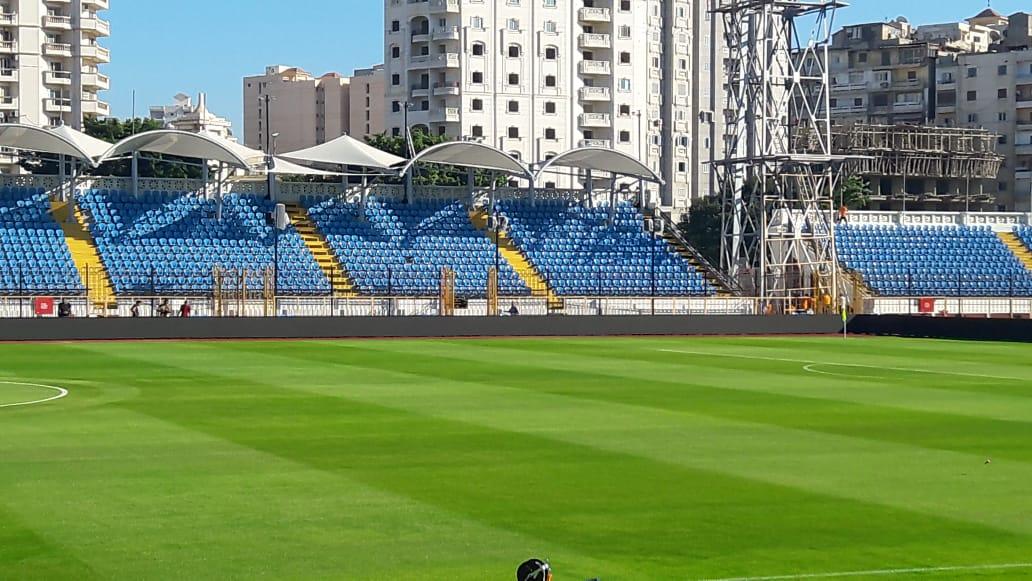 """صور.. استاد الإسكندرية جاهز لاستقبال """"الكان""""..الملعب يتزين لاستضافة 7مباريات  121764-c21ce87b-9ef7-48c4-8b01-dce7b7690536"""