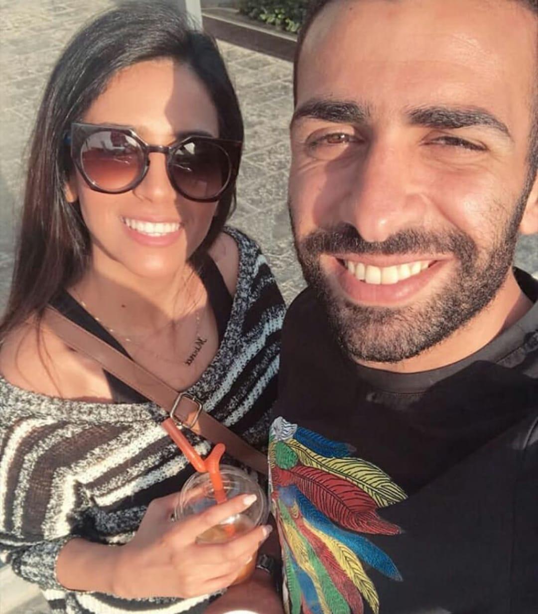 أسامة إبراهيم و ميرنا