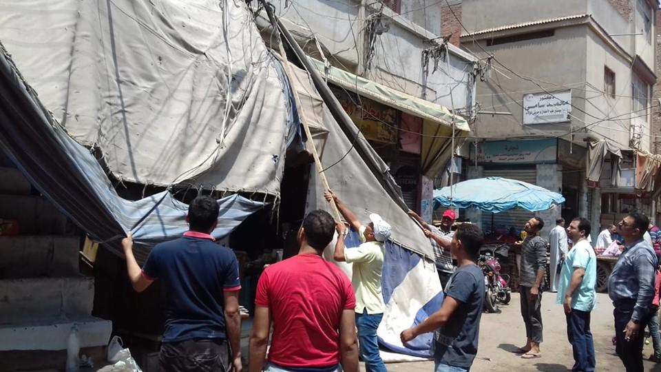 جانب من حملات الإزالة وأعمال الرصف وأعمال نفق الشهابية  (8)