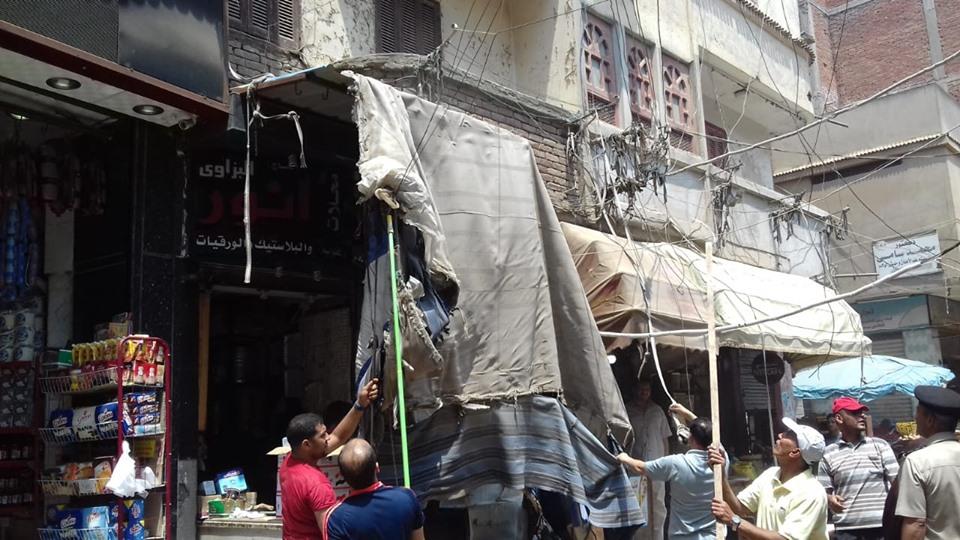 جانب من حملات الإزالة وأعمال الرصف وأعمال نفق الشهابية  (10)