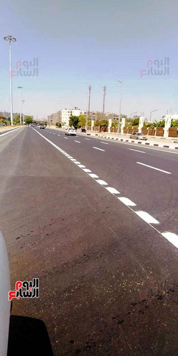 6201911101744870-تخطيط-الشوارع-ودهان-الأرصفة-بمحيط-استاد-القاهرة--(6)