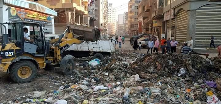 حملات رفع القمامة