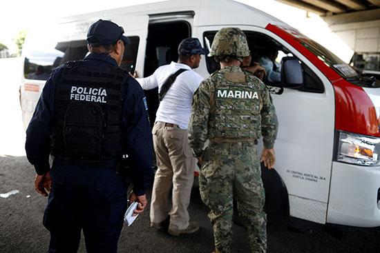 قوات الأمن فى المكسيك