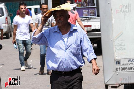 ارتفاع الحرارة أثر بشدة على المواطنين