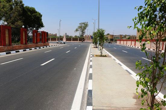 محافظ القاهرة يتفقد محيط استاد القاهرة   (4)