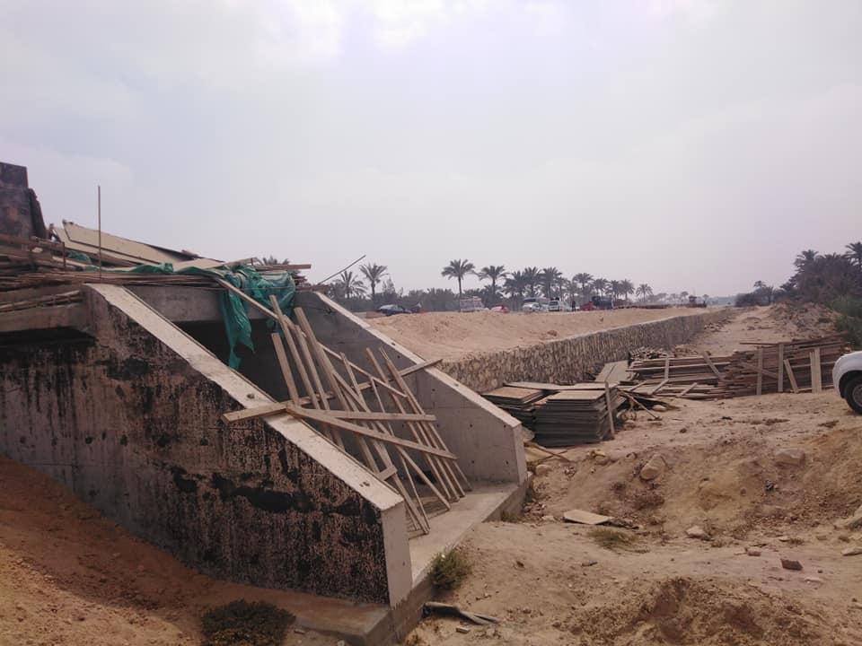 جانب من حملات الإزالة وأعمال الرصف وأعمال نفق الشهابية  (1)