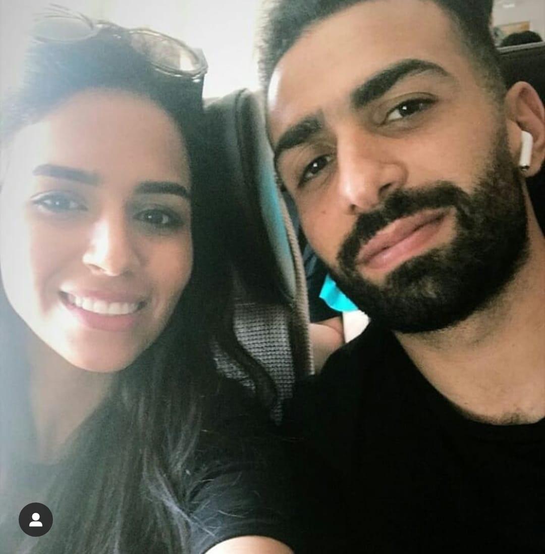 أسامة إبراهيم و ميرنا فى سيلفى