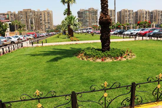 محافظ القاهرة يتفقد محيط استاد القاهرة   (1)