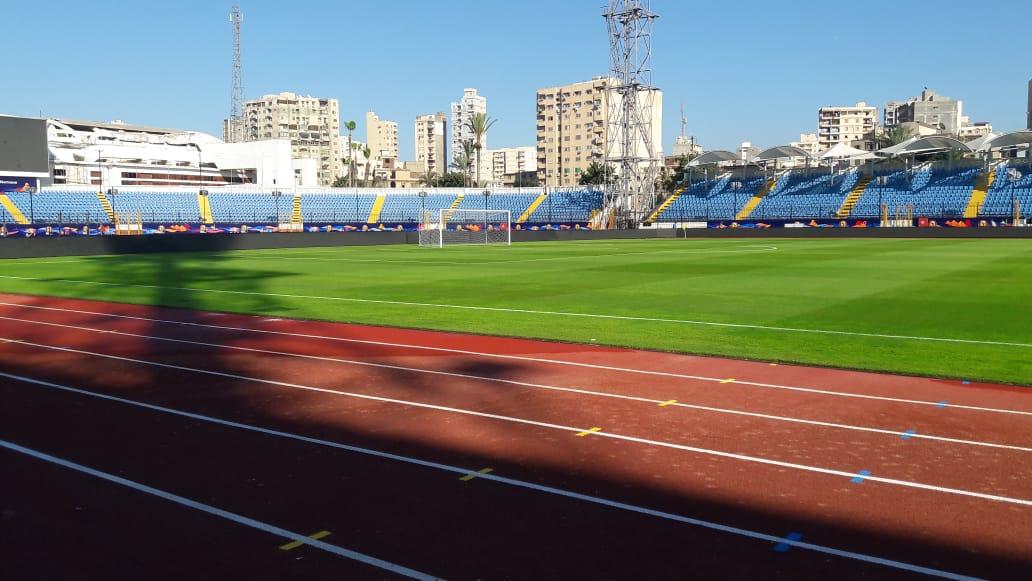 """صور.. استاد الإسكندرية جاهز لاستقبال """"الكان""""..الملعب يتزين لاستضافة 7مباريات  90048-011d5034-cca8-438d-95a7-20e1f30cd3e2"""