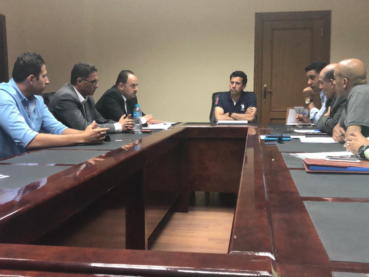 وزير الشباب والرياضة أشرف صبحى  (4)