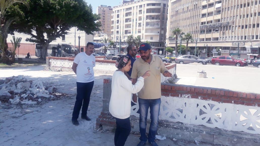 تمثال الخديوى إسماعيل بوسط الإسكندرية (3)