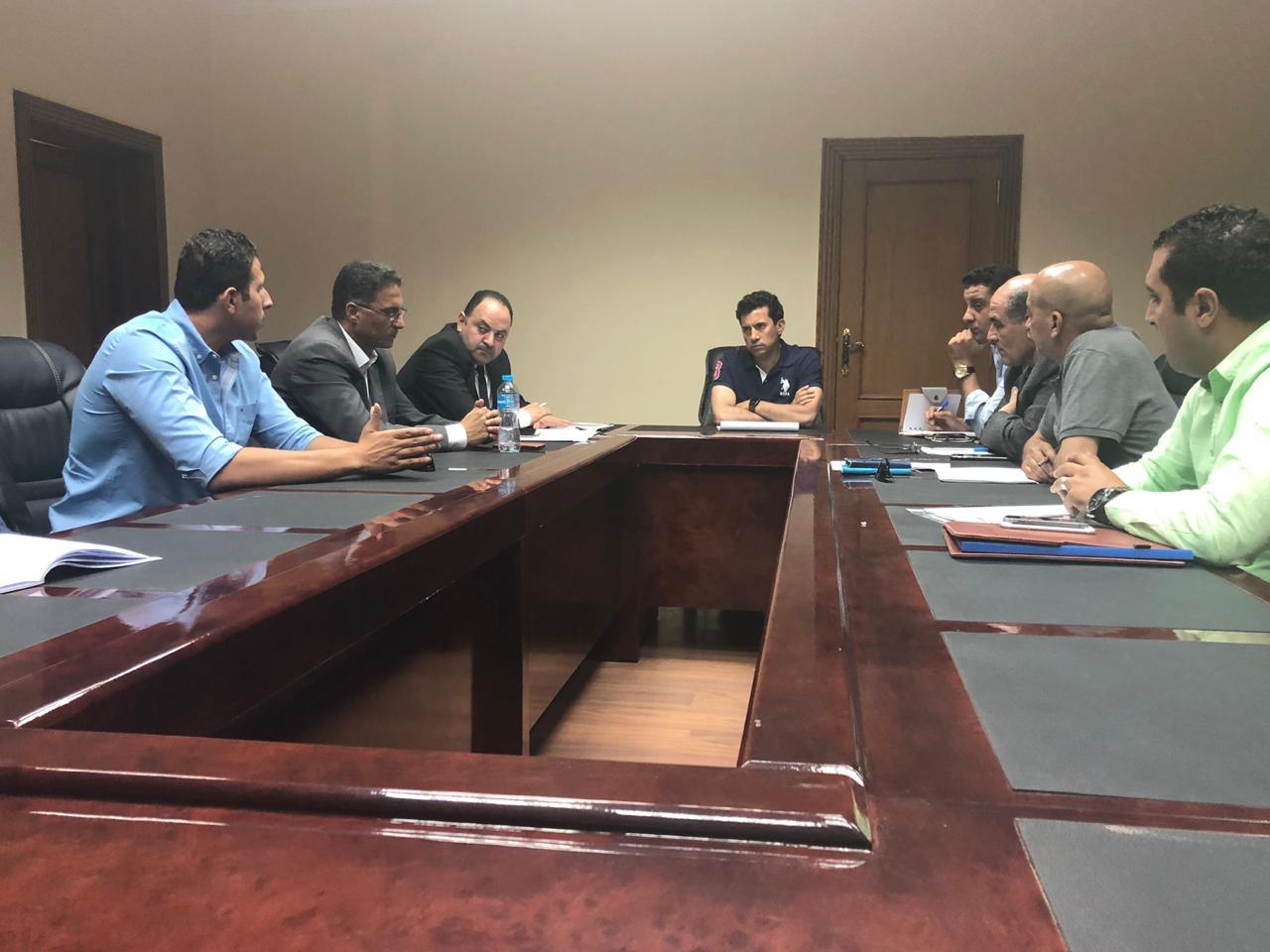 وزير الشباب والرياضة أشرف صبحى  (5)