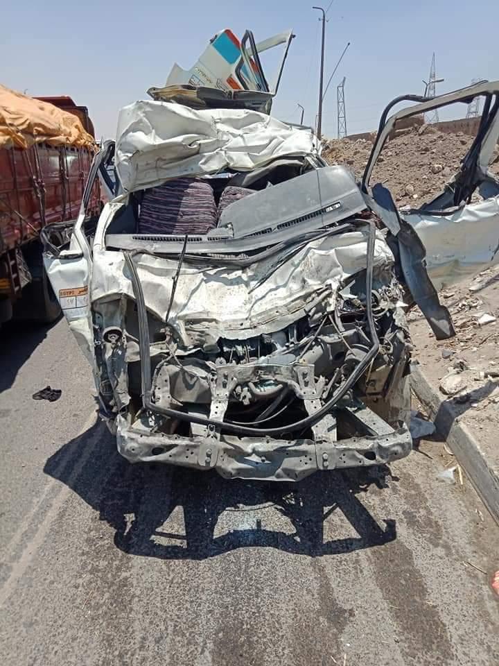 حادث تصادم طريق الاوتوستراد (6)