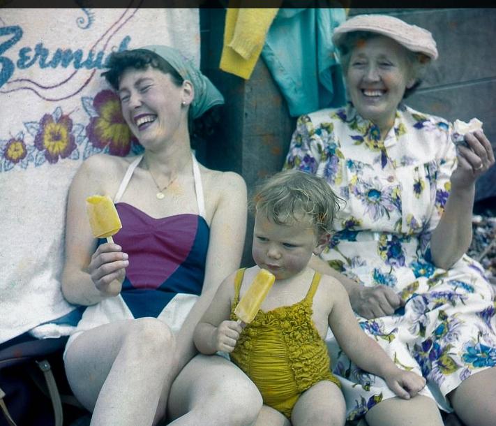 الشواطئ فى الخمسينيات