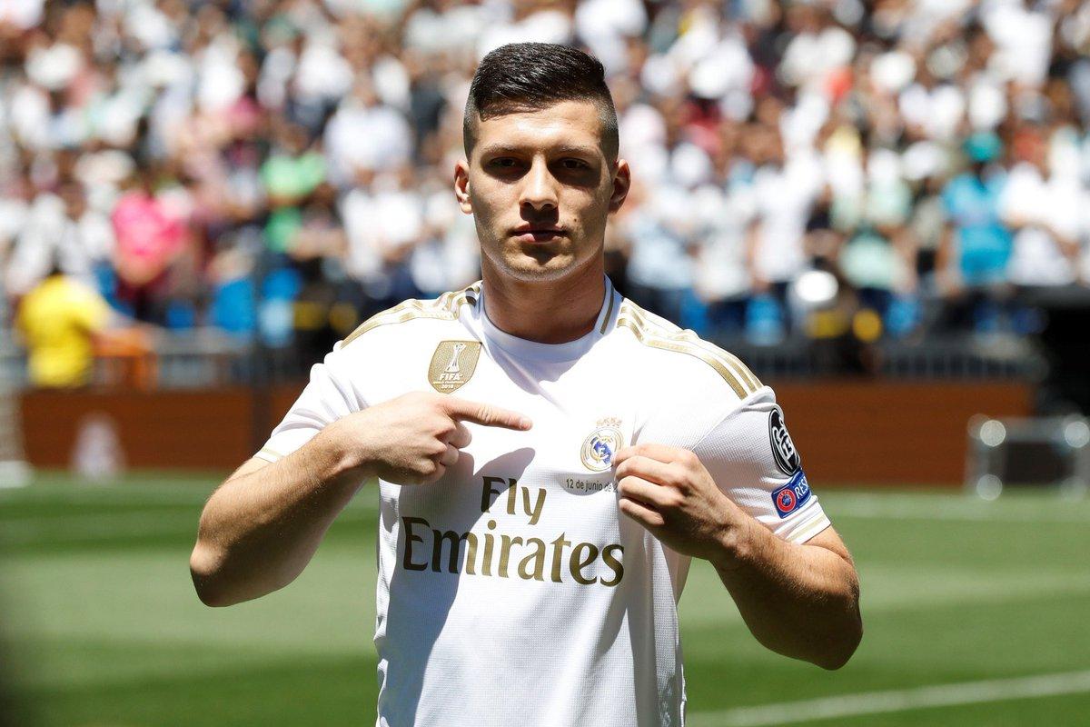 يوفيتش بقميص ريال مدريد