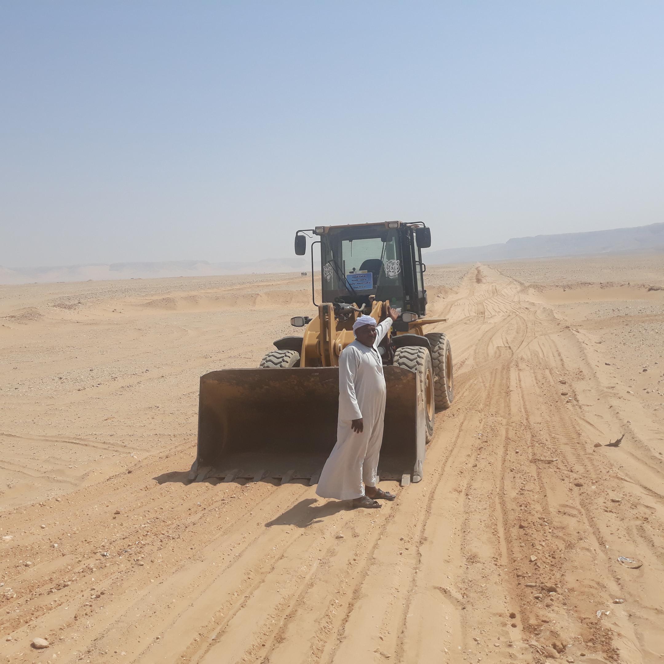 2 احد المزارعين بقرية المراشدة