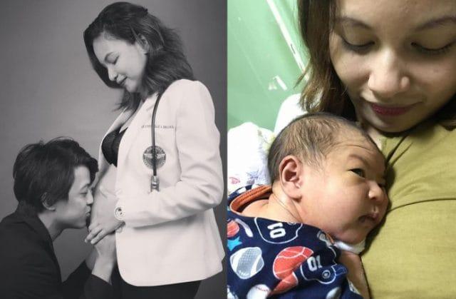 سيبويان السيده الفلبينية وابنها