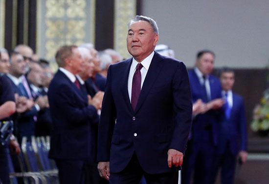 رئيس كازاخستان السابق نور سلطان نزارباييف