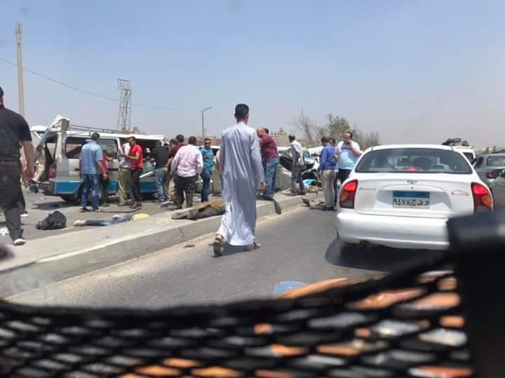 حادث تصادم طريق الاوتوستراد (5)