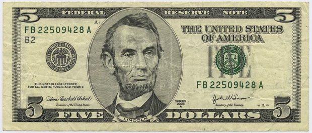 5دولار