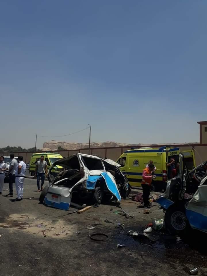 حادث تصادم طريق الاوتوستراد (4)