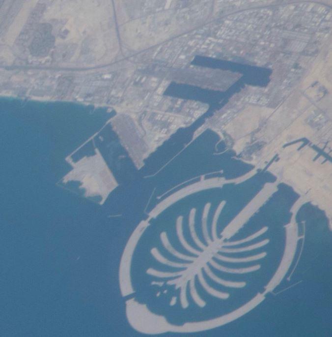 جزر دبى الساحرة من السماء (2)