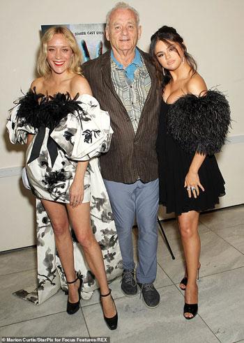كلوي-مع-سيلينا-و-بيل-موراي