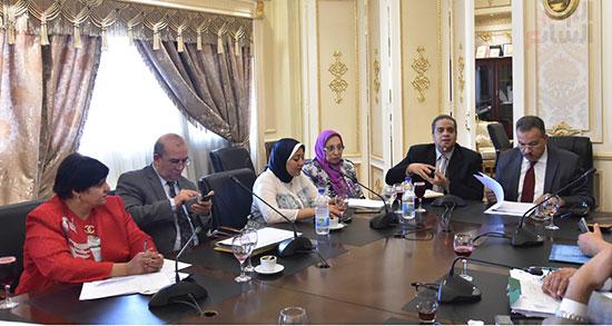 لجنة الشئون الصحية بالبرلمان (2)