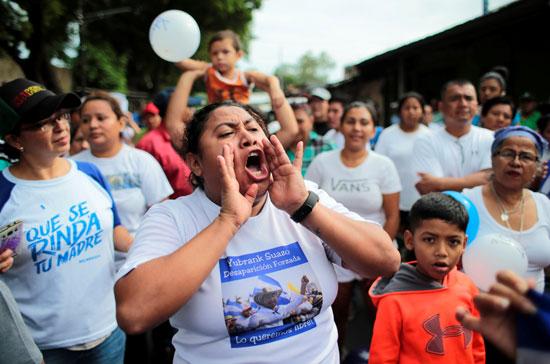 هتافات فى شوارع نيكاراجوا بعد إطلاق سراح مساجين