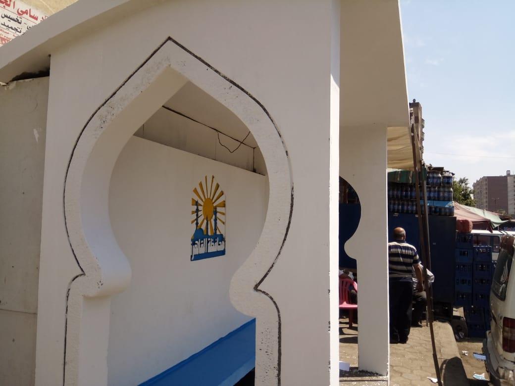محافظة القاهرة تنتهى من تجديد 400 محطة لأتوبيسات النقل العام (1)
