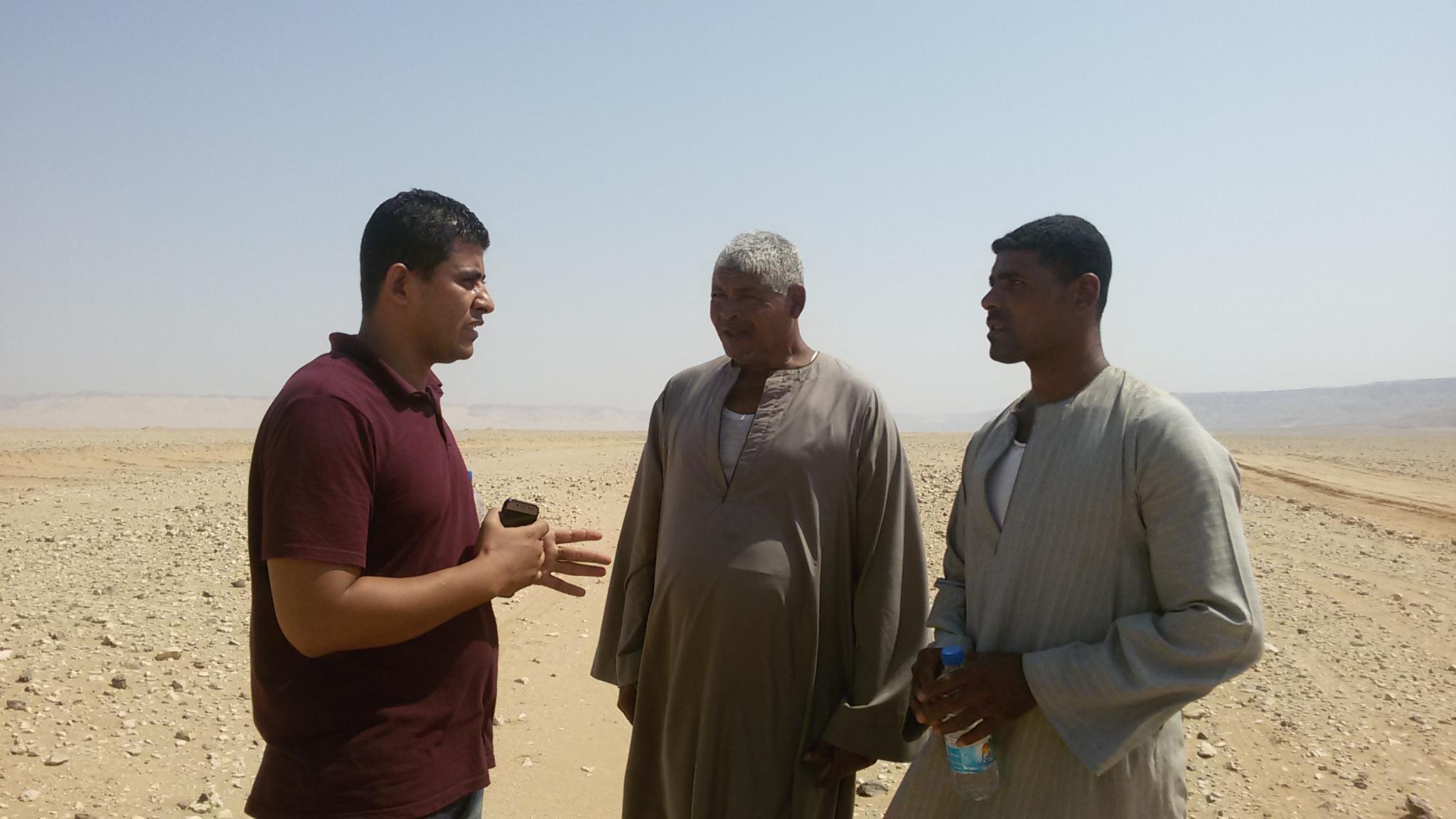 6 محرر اليوم السابع مع المزارعين