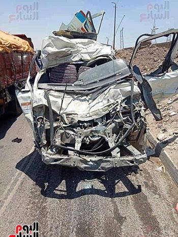 حادث-تصادم-طريق-الاوتوستراد-(6)