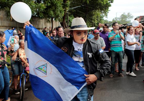 احتفالات فى نيكاراجوا لإطلاق سراح مساجين سياسيين